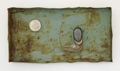 Gitte Schäfer · Sogno, 2013, Metall, Holz, Leder, 109x210x26cm