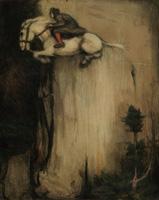 Franz Karl Basler-Kopp · Hexenhalfter, o.J., Kreide auf Papier, 56x46cm