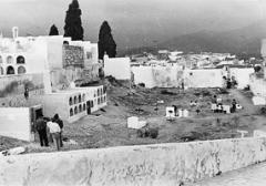 Friedhof von Almuñécar, 1958. Foto: Franca Giovanoli