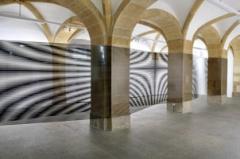 Robert Currie · Installationsansicht Trait papier, 2013, Centre d'art contemporain Yverdon. Foto: Karine Tissot