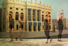 Pablo Bronstein · Passeggiata, 2008, Video auf DVD, ca 20', Unikat, Rennie Collection, Vancouver, Courtesy Galleria Franco Noero, Torino. Foto: Annik Wetter