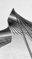 Gunter Frentzel · o.T. (Detail),2013, 67 Vierkant-Metallstäbe, je 210x1,5x1,5cm, Grundriss: 4x4m, 1m hoch. Foto: Til und Uli Frentzel