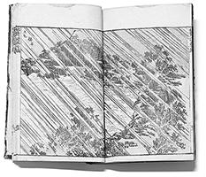 Katsushika Hokusai Hokusai Manga, Band:7, Abb. 24, Farbholzschnitt, 1817. Verleger:Eiryakuya Toshiro