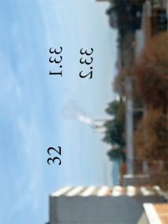 TITELBILD · Delphine Chapuis Schmitz · 56 Räume/56 espaces/56 spaces, 2011, Broschüre, Selbstklebende Zahlen, Raum. Ansicht der Installation an der Ziegelackerstrasse 11a, Projekt DA, Bern
