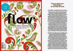Papierliebe und digitaler Textkörper: Die Selbermach-Zeitschrift ‹Flow› ging mit 100'000 Exemplaren an den Start, die Künstlerin Adva Zakai nutzt die Webzeitschrift ‹Un coup de dès› für die Performance: «Ich bin aus Worten gemacht».