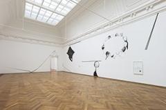 Rita Ponce de León · Endless openness produces circles, 2014, Installationsansichten Kunsthalle Basel