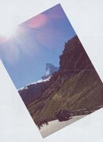 Erik Steinbrecher · Zermatt, 2012, Offset, Vorder- und Rückseite, erschienen zur Ausstellung ‹Uber Alles›, Kunstbibliothek, Staatliche Museen zu Berlin ©ProLitteris