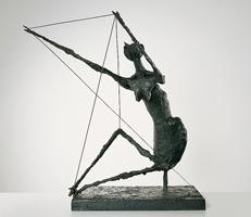 Germaine Richier · La Fourmi, 1953, Bronze, 99x88x66cm, Musée de Grenoble ©ProLitteris. Foto: Musée de Grenoble