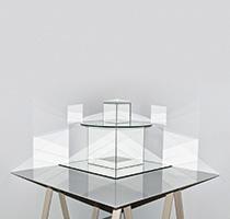 Dominique Teufen · Blitzlicht-Skulptur # 5, 2013, C-Print, 60x90cm (Auflage 5+2AP)