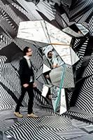 Tobias Rehberger · Home and Away and Outside, 2014, Ausstellungsansicht Schirn Kunsthalle Frankfurt. Foto: Norbert Miguletz
