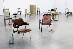 Eric Hattan · Habiter l'inhabituel, 2014, Ausstellungsansicht, FRAC Provence-Alpes-Côte d'Azur, Marseille