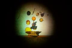 Untitled (after St. Caravaggio), 2003-2006, Digitale Videoprojektion (Farbe, ohne Ton), 2'58', Emanuel Hoffmann-Stiftung, Geschenk der Präsidentin, 2010, Depositum in der Öffentlichen Kunstsammlung Basel. Foto: Jean Vong