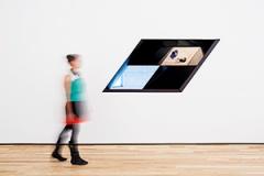 Sarah Oppenheimer · Baltimore:installation view: the Baltimore Museum of Art, 2012