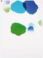Fotogramm/Mehrfachbelichtung eines Lochs, 2011, C-Print, 69,5x50,5cm, Unikat, Courtesy Galerie Stampa, Basel