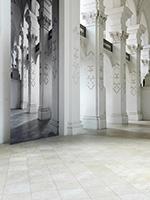 Renate Buser · Barock, 2014, 8-teilige Installation, Abteikirche von Bellelay, 317x576cm