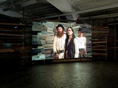 Joachim Koester · The Place of Dead Roads, 2014, HD-Video-Installation, Farbe, Ton, 33'3', Centre d'art cont. Genève. Foto: Annick Wetter