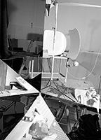 Bernard Voïta · Melencolia VI (Jacques D.), 2013, Digitalbild, gebeamt, Grösse variabel, Courtesy Bob van Orsouw Gallery, Zürich