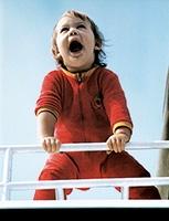 Nina Haab · Fotografie der Künstlerin als ca. dreijähriges Mädchen, vom Vater geschossen