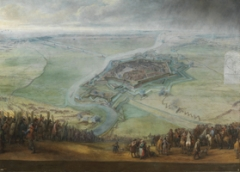 Pieter Snayers · Die Belagerung von Gravelines vom 11. April bis 17. Mai 1652, um 1653, Öl auf Leinwand, 188x260 cm, Courtesy Museo Nacional del Prado, Madrid