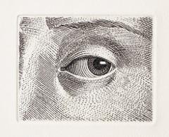Auge, 1975, Kaltnadel, 59x78mm ©ProLitteris
