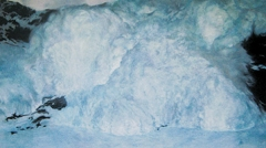 Gilgi Guggenheim · Vertical Limit, 2003, Öl auf Leinwand, 109x192 cm