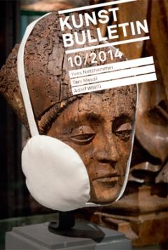 Yves Netzhammer · Die Gegenwart sucht ihren Mund in der Spiegelung der Suppe, 2014. Foto: T. Krempke