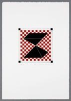Werner von Mutzenbecher · Spiel-Räume, 1990, Edition Franz Mäder, Blatt 3 von 6 Eisenätzungen, Drucker: Philippe Gallay, Kunstmuseum Basel, Kupferstichkabinett, Geschenk Franz Mäder