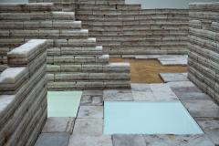 Julian Charrière · Future Fossil Spaces, 2014, Prix culturel Manor Vaud, Ausstellungsansicht. Foto: Nora Rupp
