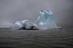 Julian Charrière · The Blue Fossil Entropic Stories, 2013, Fotografische Dokumentation der performativen Expedition, Courtesy Ditterich & Schlechtriem, Berlin