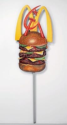 Milan Kunc · Big Mac, 1978/1979, Mixed media, ca. 200cm, Courtesy Galerie Andrea Caratsch, Zürich/St. Moritz