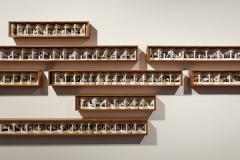 Dayanita Singh · Go Away Closer, 2014, Installationsansicht MMK 3. Foto: Axel Schneider