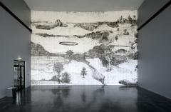 Didier Rittener · La légère élévation, 2014, Micro Onde, Ausstellungsansicht