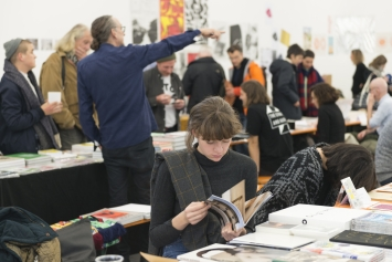 Volumes Independent Art Book Fair. Foto: Dominik Zietlow