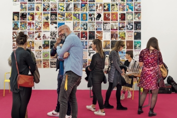 Volumes, Independent Art Publishing Fair, Kunsthalle Zürich, ‹Kunst: Szene Zürich 2018›. Foto: Dominik Zietlow