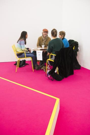 Schule des Lebens,Kunsthalle Zürich,Kunst: Szene Zürich 2018.Foto:Dominik Zietlow