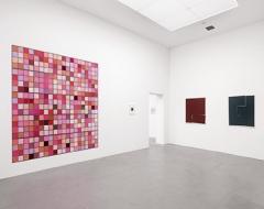 Vera Molnar · Ausstellungsansichten Museum Haus Konstruktiv Zürich, 2015 ©ProLitteris. Foto: Stefan Altenburger