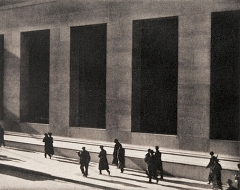 Paul Strand · Wall Street, New York, 1915, Platindruck, 24,8x32,2cm