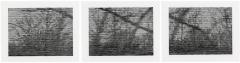 Christiane Baumgartner · 1 Sekunde, 2004, Holzschnitt, gedruckt von der Künstlerin, Blatt 26x33cm, Courtesy CdAG, MAH, Genf ©ProLitteris