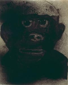 Rosemarie Trockel · Untitled, 1984, Gouache, Tusche auf Papier, 23,8x19,8cm/ 50,2x40,2cm, Courtesy Ken & Helen Rowe; Sprüth Magers ©ProLitteris. Foto: Schaub