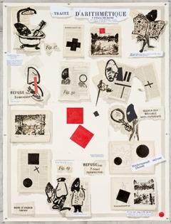 Traité d'Arithmétique, 2007, Lithographie-Druck, Courtesy Goodman Gallery