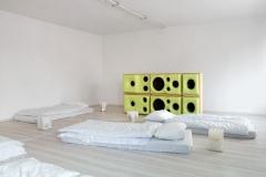 Philippe Därendinger und Guy Meldern · Extra Sun (Sleep Inn), 2015. Foto: A. Satus