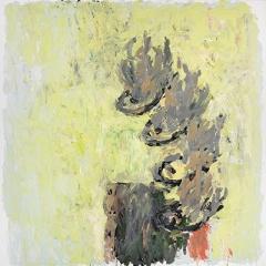 Velimir Ilisevic · Fische, 2009, Öl auf Leinwand, 180x180cm
