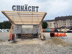 Chnächt, Restaurant Klybeckareal Basel, 2015