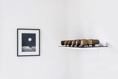 Harold Guérin · Focus, 2014; Luc Mattenberger· Moonrise, 2009. Foto: Sophie Goyard