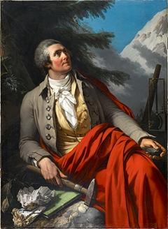 Jean-Pierre Saint-Ours · Horace-Bénédict de Saussure (Gründer der Société des arts), 1796, Öl auf Leinwand, 135,2x98,5cm, Courtesy Société des arts/MAH. Foto: Flora Bevilacqua