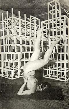Kazuko Miyamoto · Stunt, 1982, Fotokopien, Collagen, 150x97cm