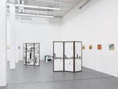 Etel Adnan · Ausstellungsansicht Haus Konstruktiv, 2015. Foto: Stefan Altenburger