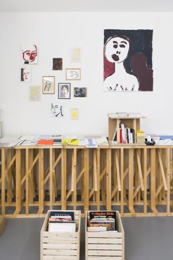 Material- Raum für Buchkultur.Foto:Dominik Zietlow