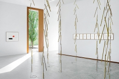 Jürgen Partenheimer · Metaphysik, 2015, Ausstellungsansicht haeusler contemporary, Lustenau ©ProLitteris. Foto: Wolfgang Stahl