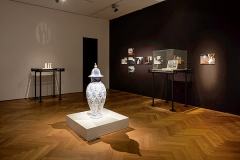 Caro Suerkemper · Untitled, 2012, Keramik, Ausstellungsansicht Gewerbemuseum Winterthur ©ProLitteris. Foto: Michael Lio